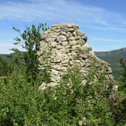 Les ruines du site de Foirevieille